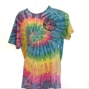 Tops - Tie Dye Spirit Of The Environment San Diego TShirt